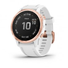 Fenix 6S - Rose Gold-tone with White Band