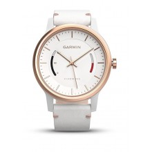 Годинник vívomove Classic, Rose Gold-Tone with Leather Band